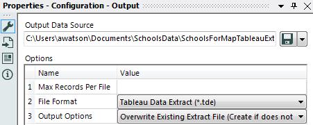 Alteryx Output Tableau Data Extract
