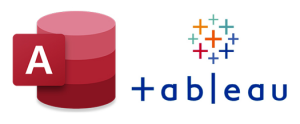 ms access and tableau logos