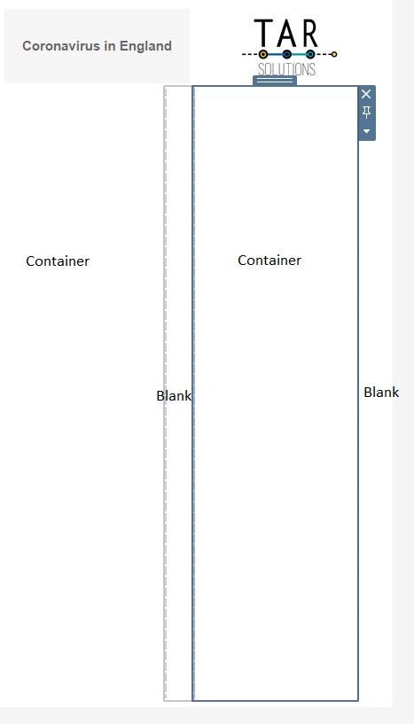 Place blanks between the sheet swapping containers