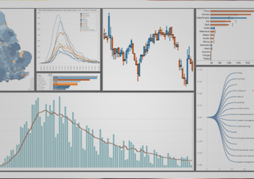 Collage of Tableau charts